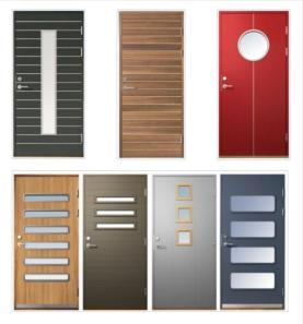 Puertas forja contemporanea for Modelos de puertas para dormitorios
