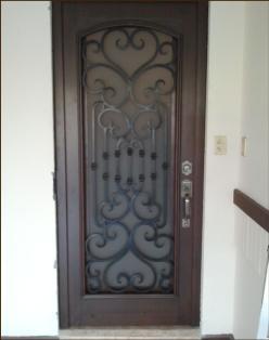 Puertas forja clasica - Puertas forja exterior ...